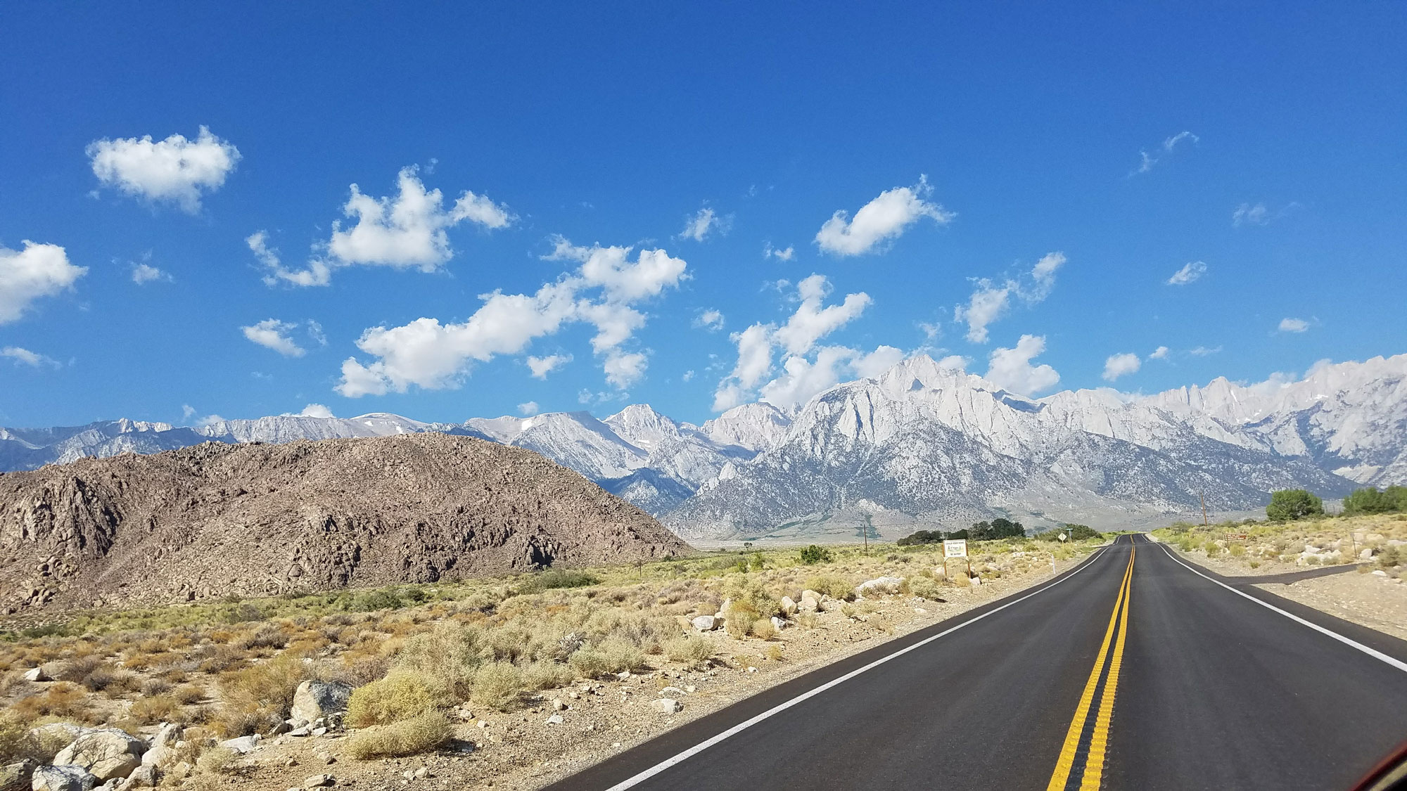 Road to Mt. Whitney